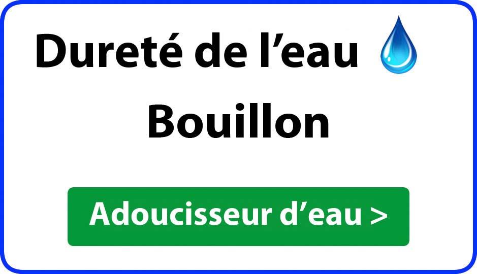 Dureté de l'eau Bouillon - adoucisseur d'eau