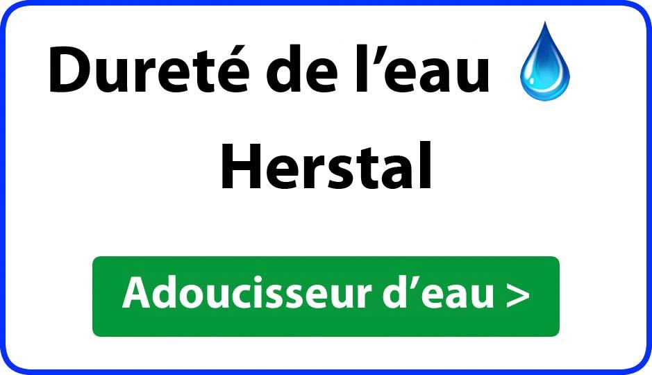 Dureté de l'eau Herstal - adoucisseur d'eau