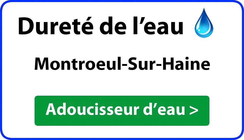 Dureté de l'eau Montroeul-Sur-Haine - adoucisseur d'eau