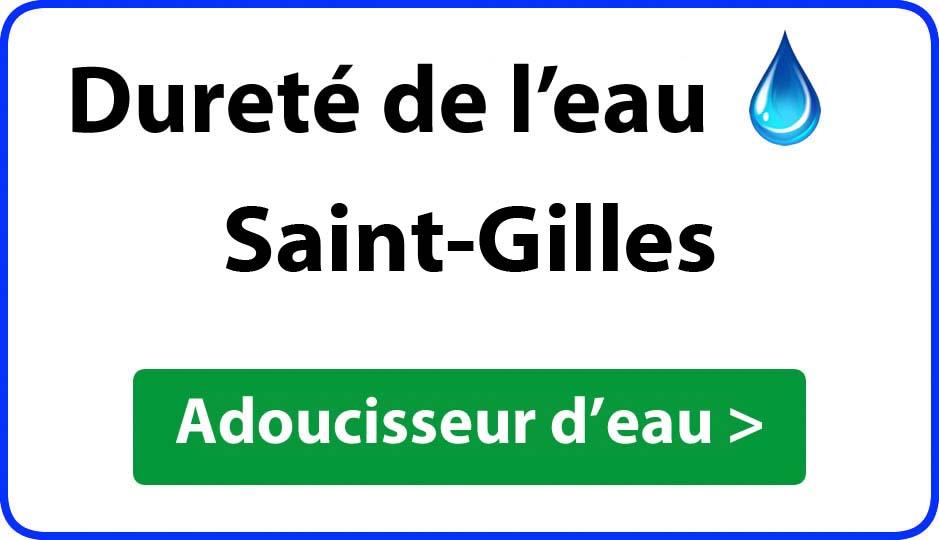 Dureté de l'eau Saint-Gilles - adoucisseur d'eau