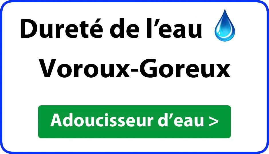 Dureté de l'eau Voroux-Goreux - adoucisseur d'eau